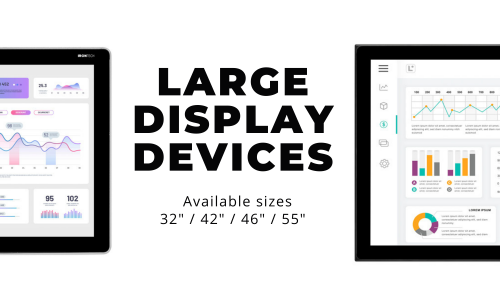 Introducing LARGE Display Devices